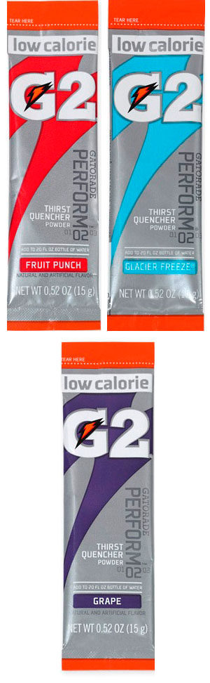 G2 .52 oz Powder Sticks Pack - Low Calorie Sports Drink