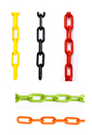 Plastic Chain 1.5-Inch links 100 feet - (available in 6 colors)